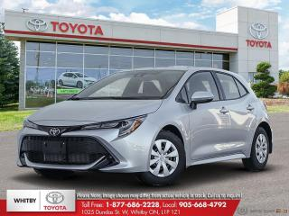 New 2021 Toyota Corolla S CVT for sale in Whitby, ON