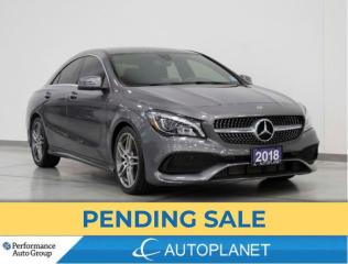 Used 2018 Mercedes-Benz CLA-Class CLA250 4MATIC,Premium Pkg, Back Up Cam, New Tires for sale in Clarington, ON