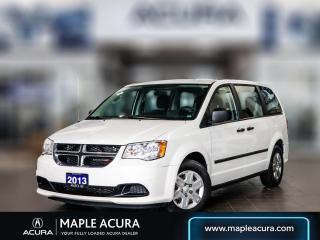 Used 2013 Dodge Grand Caravan SE/SXT for sale in Maple, ON
