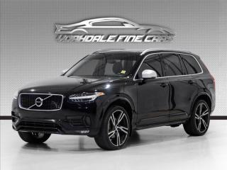 Used 2016 Volvo XC90 AWD T6 R-Design 7 Passenger, Navi, 360 Cam, Loaded for sale in Concord, ON