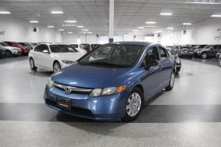 Used 2008 Honda Civic DX I POWER OPTIONS I AM/FM RADIO I CD PLAYER I AS IS for sale in Mississauga, ON