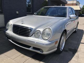 Used 2001 Mercedes-Benz E-Class 5.5L for sale in Nobleton, ON
