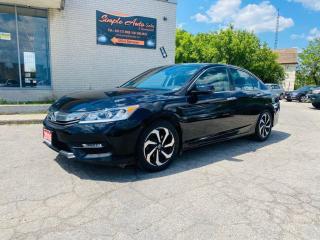 Used 2016 Honda Accord Sedan EX-L for sale in Barrie, ON