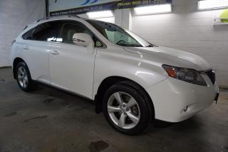 Used 2011 Lexus RX 350 AWD CAMERA CERTIFIED 2YR WARRANTY *1 OWNER*FREE ACCIDENT* BLUETOOTH HEAT/COLD LEATHER SEAT ALLOYS for sale in Milton, ON