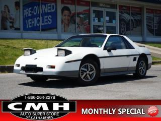 Used 1985 Pontiac Fiero GT for sale in St. Catharines, ON