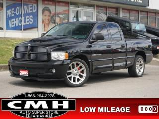 Used 2005 Dodge Ram 1500 SRT10  V10 ROOF LEATH P/SEATS 22-AL for sale in St. Catharines, ON