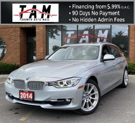 Used 2014 BMW 3 Series Wagon 328xi Touring AWD Pano Sunroof PDC Clean Carfax for sale in North York, ON