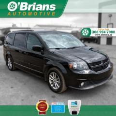 Used 2014 Dodge Grand Caravan R/T - Accident Free! w/Command Start, Backup Cam, Leather, Nav for sale in Saskatoon, SK