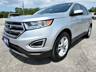 Used 2017 Ford Edge SEL   Panoramic Roof   Navigation   Heated Seats for sale in Essex, ON