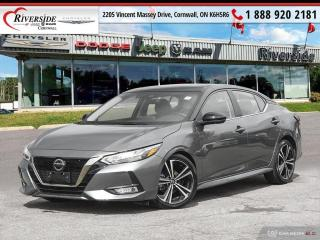 Used 2020 Nissan Sentra SR for sale in Cornwall, ON