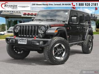Used 2020 Jeep Wrangler Unlimited Rubicon for sale in Cornwall, ON