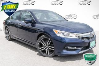 Used 2016 Honda Accord Sport RARE 6 SPEED MANUAL!!! HEATED FRONT SEATS!! POWER MOONROOF!! for sale in Barrie, ON