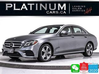 Used 2020 Mercedes-Benz E-Class E350 4MATIC, AWD, NAV, PANO, CAM, APPLE/ANDROID for sale in Toronto, ON