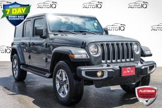 Used 2021 Jeep Wrangler Unlimited Sahara HARD TOP   LOW MILEAGE for sale in Innisfil, ON