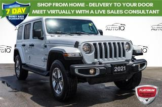 Used 2021 Jeep Wrangler Unlimited Sahara 4X4 | HARD TOP | LOW KM for sale in Innisfil, ON