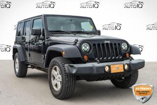Used 2010 Jeep Wrangler Unlimited Sport AS TRADED SPECIAL | YOU CERTIFY, YOU SAVE for sale in Innisfil, ON