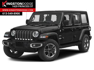 Used 2021 Jeep Wrangler Unlimited Sahara for sale in Kingston, ON