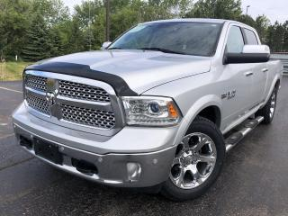 Used 2018 RAM 1500 Laramie CREW 4WD for sale in Cayuga, ON