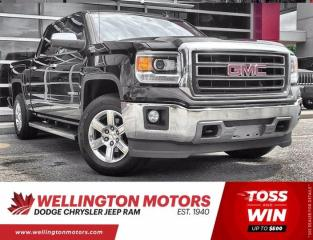 Used 2014 GMC Sierra 1500 SLT | Crew Cab | 4X4 | V8 | Accident Free for sale in Guelph, ON