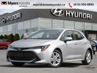 Used 2019 Toyota Corolla Hatchback Base  - $165 B/W for sale in Kanata, ON