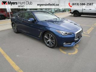 Used 2017 Infiniti Q60 3.0t  - Navigation -  Sunroof for sale in Ottawa, ON