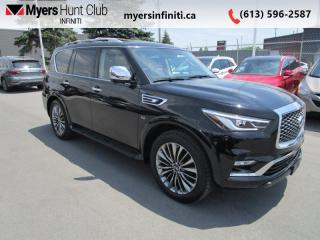 Used 2018 Infiniti QX80 8 Passenger Tech  - Leather Seats for sale in Ottawa, ON