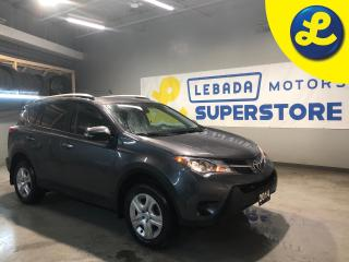 Used 2014 Toyota RAV4 LE AWD * Heated Cloth Seats * AM/FM/SXM/USB/BT/Aux * Back Up Camera * Eco Mode * Sport Mode *  Hands Free Calling * 12V DC Outlet *  Cruise Control * for sale in Cambridge, ON