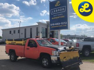 Used 2014 Chevrolet Express 2500 HD Reg Cab Plow Truck 4X4 * Fisher Poly Caster Salt Spreader W/ Spinner & Conveyor * Fisher Storm Guard Snow Plow * 6.0 V8 * 6-Speed Automatic  Back Rack for sale in Cambridge, ON