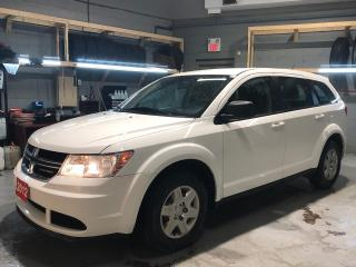 Used 2012 Dodge Journey SE * 5 Passenger * Cruise Control * Steering Wheel Controls * Push Button Start * AM/FM/SXM/CD/USB/Aux * Dual Climate Control * Rear Climate Control * for sale in Cambridge, ON