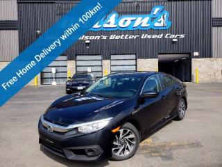 Used 2018 Honda Civic Sedan SE CVT - Lane Departure, Adaptive Cruise Control, Push Button Start, Reverse Camera and More! for sale in Guelph, ON