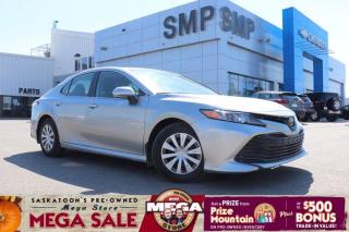 Used 2019 Toyota Camry LE -Back Up Camera for sale in Saskatoon, SK