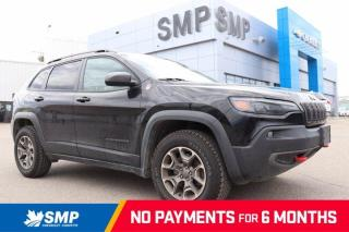 Used 2020 Jeep Cherokee Trailhawk - 4X4, V6, Heated Seats for sale in Saskatoon, SK