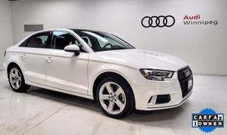 Used 2018 Audi A3 Sedan Komfort w/Convenience Package *Local Trade* for sale in Winnipeg, MB