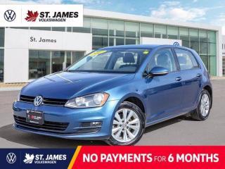 Used 2017 Volkswagen Golf Comfortline, Local One Owner, Apple CarPlay, Backup Camera for sale in Winnipeg, MB