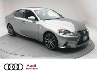 Used 2015 Lexus IS 250 AWD 6A for sale in Burnaby, BC