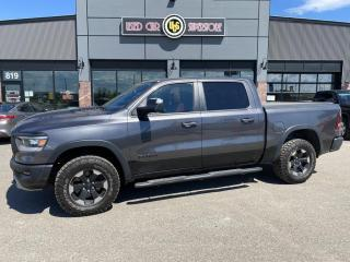 Used 2019 RAM 1500 Rebel 4x4 Crew Cab 5'7  Box for sale in Thunder Bay, ON