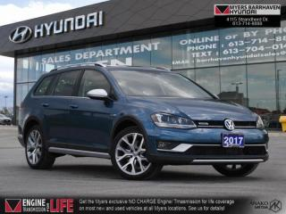 Used 2017 Volkswagen Golf Alltrack 1.8 TSI  - Bluetooth - $200 B/W for sale in Nepean, ON
