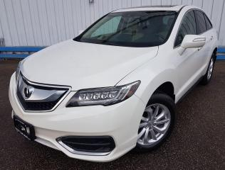 Used 2017 Acura RDX AWD *NAVIGATION-LEATHER-SUNROOF* for sale in Kitchener, ON