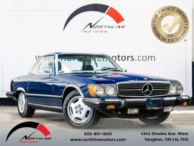 1975 Mercedes-Benz SL 450 Roadster/Power Windows/Hardtop/3-Speed Automatic