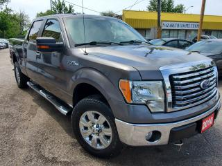 Used 2010 Ford F-150 XLT/4WD/CREW CAP/REMOTE START/LOADED/ALLOYS for sale in Scarborough, ON