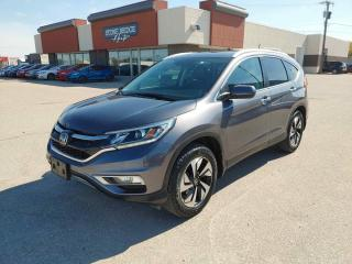 Used 2016 Honda CR-V Touring for sale in Steinbach, MB