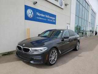 Used 2018 BMW 5 Series 530i xDrive | M SPORT PKG! for sale in Edmonton, AB
