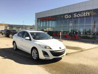 Used 2010 Mazda MAZDA3 GT, Auto, Leather for sale in Edmonton, AB