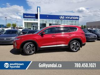 Used 2019 Hyundai Santa Fe ULTIMATE/PANO ROOF/HEADS UP/COOLED SEATS for sale in Edmonton, AB