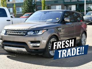 Used 2017 Land Rover Range Rover Sport Td6 HSE V6 DIESEL / CLEAN CARFAX / ONE-OWNER / LOW KMS / NAVIGATION / HEATED + COOLED FRONT SEATS / HEATED BACK SEATS / BACKUP CAMERA + MUCH MORE!! for sale in Red Deer, AB