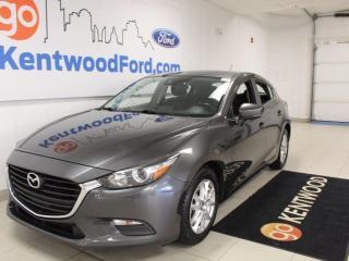 Used 2018 Mazda MAZDA3 Sport Auto | Heated seats | Heated steering Wheel | Back up Camera | for sale in Edmonton, AB
