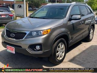 Used 2013 Kia Sorento LXw/3rd ROW|LOW KM|NO ACCIDENT|BLUETOOTH|CERTIFIED for sale in Oakville, ON