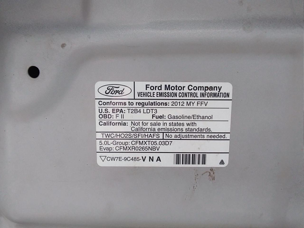 2012 Ford F-150 SUPERCREW