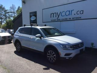Used 2018 Volkswagen Tiguan Comfortline LEATHER, PANOROOF, NAV, HEATED SEATS, FULL LOAD!! for sale in Richmond, ON