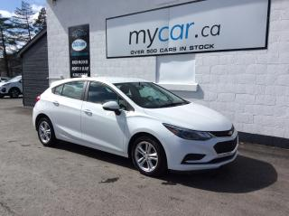 Used 2018 Chevrolet Cruze LT Auto HEATED SEATS, ALLOYS, BACKUP CAM, BLUETOOTH!! for sale in Kingston, ON